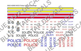 MoD Police Vehicle Markings